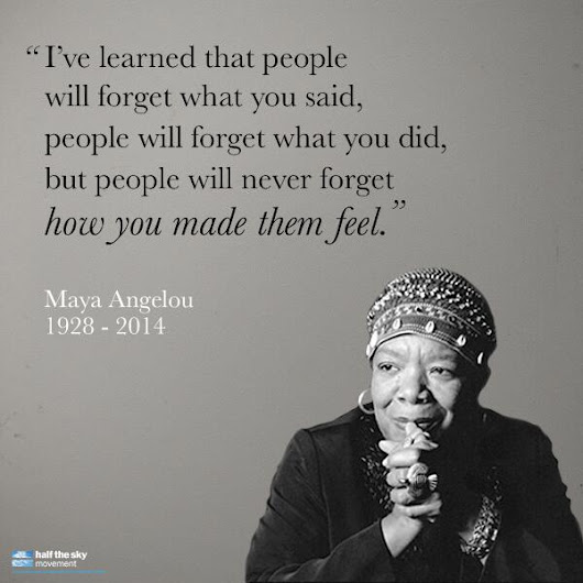 "Twitter / Half: ""People will forget what you ..."