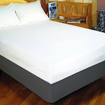 Bargoose Fitted Allergy and Waterproof Mattress Cover, Cotton | Allergy-Reducing Relief