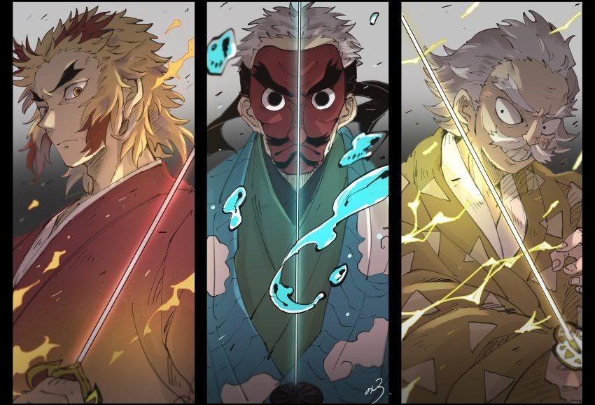 The hashira are the nine. Demon Slayer Former Hashira - Manga