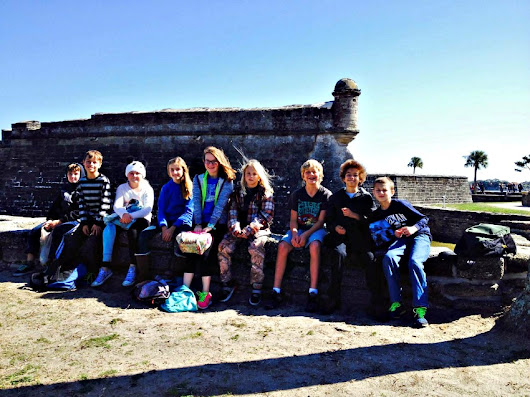 Upper Elementary Visits St. Augustine