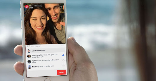 Facebook's live-streaming feature isn't just for famous people anymore