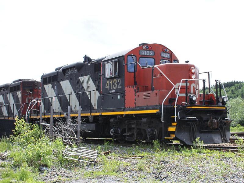 CN 4132 in Saint John