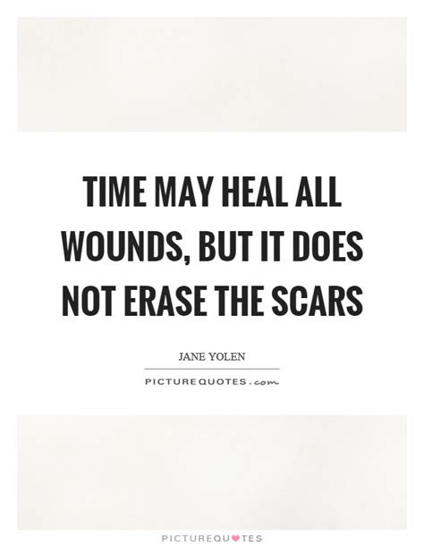 Wounds Heal Over Time Quotes