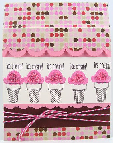 SOL May Ice Cream Canopy Card