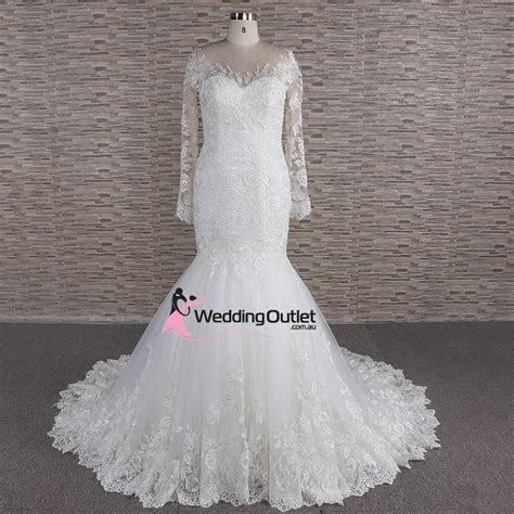 Pisa Illusion Mermaid Wedding Dress   WeddingOutlet.com.au