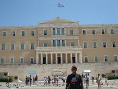 Bangunan Parlimen Greece, Athens, Greece