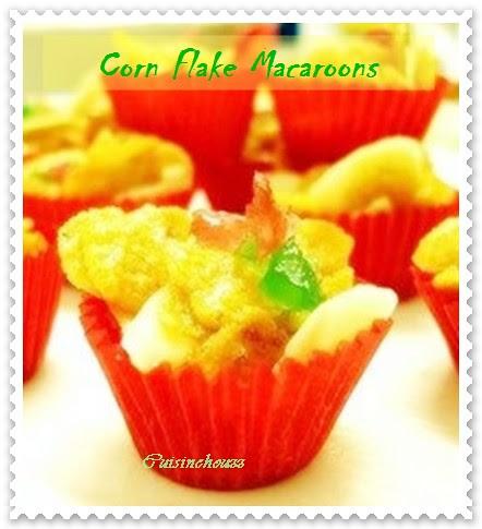 Corn Flake Macaroons