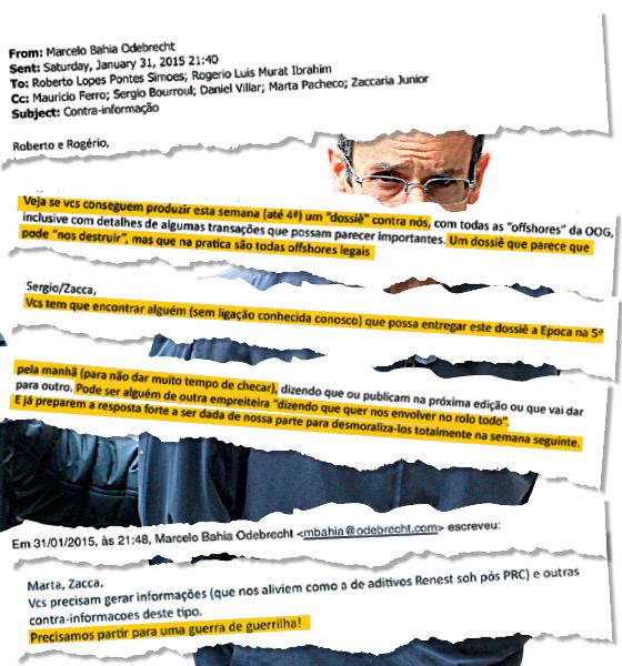 Marcelo Odebrecht planejava divulgar informações falsas sobre sua empresa (Foto: Reprodução)