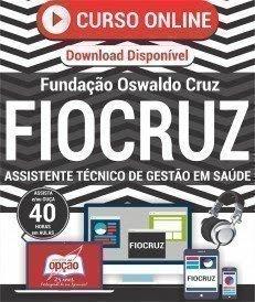 Curso On-Line ASSISTENTE TÉCNICO DE GESTÃO EM SAÚDE FIOCRUZ