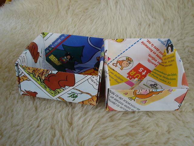 Little open box