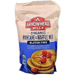 Arrowhead Mills Organic Pancake And Waffle Mix - 26 Oz - Case Of 6