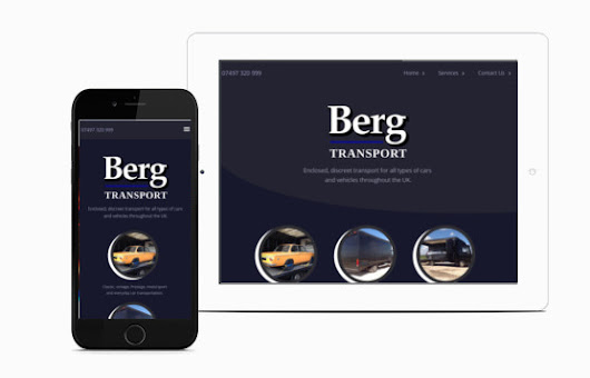 JKE Web Design | Berg Transport