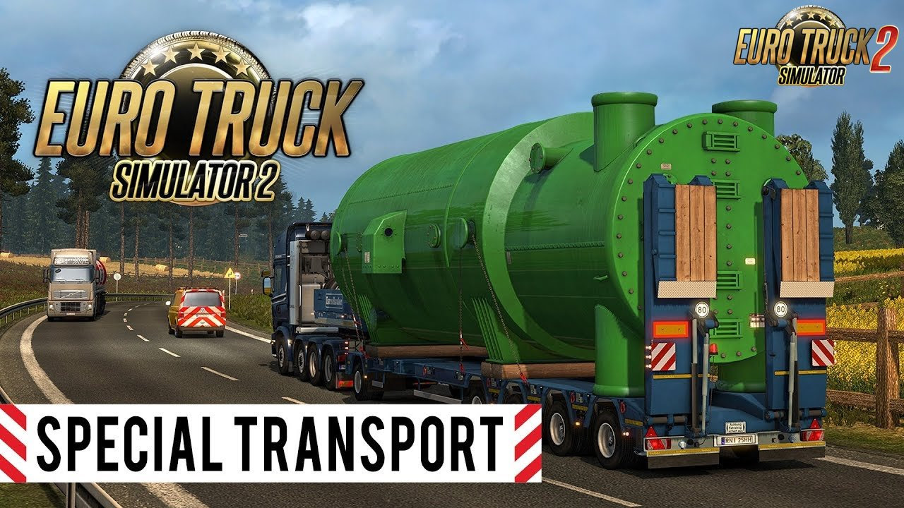 Ets2 Mods Trailers Wheel, Special Transport Dlc Trailer Euro Truck Simulator 2, Ets2 Mods Trailers Wheel
