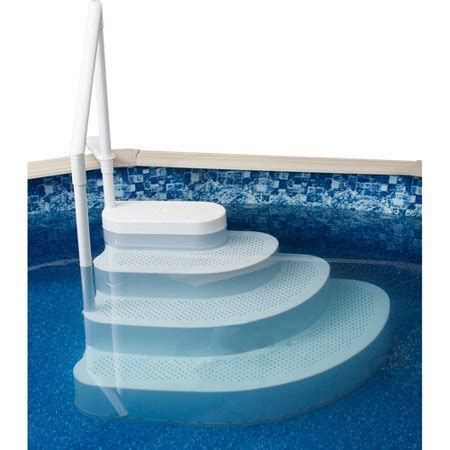 Blue Wave Wedding Cake Above Ground Pool Step   Walmart.com