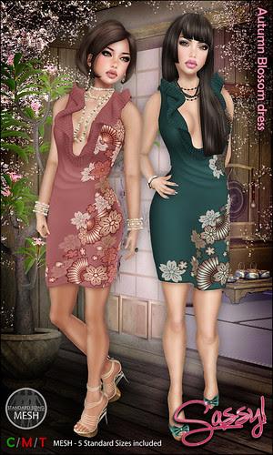 Autumn Blossom dress
