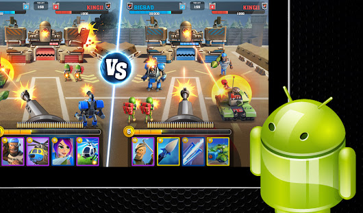 Android App of the Week: New Mighty Battles Multiplayer Game