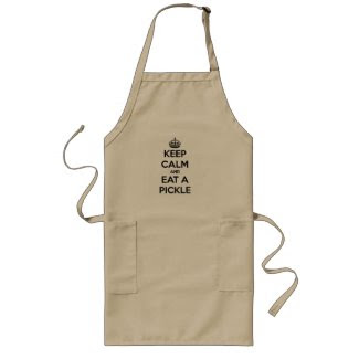 Long Apron - Keep Calm and Eat a Pickle