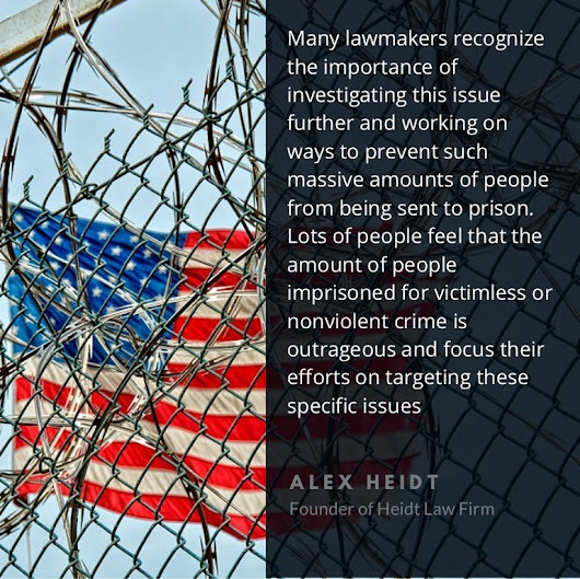 Reducing the prison population by Alex Heidt