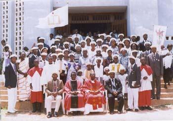 Pilgrims in Ghana