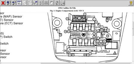 2003 Cadillac Engine Diagram