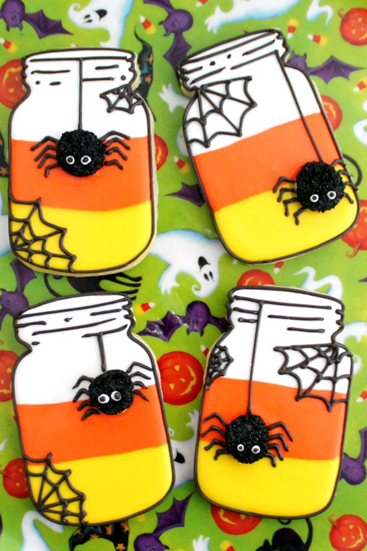 31 Easy Halloween Cookies - Recipes & Ideas for Cute ...