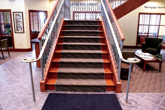Straight Stairs Design | Straight Staircase Builders | Custom Straight Stair Construction