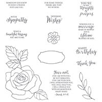 Rose Wonder Photopolymer Stamp Set by Stampin' Up!