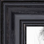 18x20 Black Wood Picture Poster Frame for 20x18 Photo 2WOM-0066-59504-YBLK-18x20 by ArtToFrames