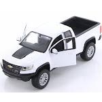 2017 Chevy Colorado ZR2, White - Showcasts 34517 - 1/27 Scale Diecast Model Toy Car