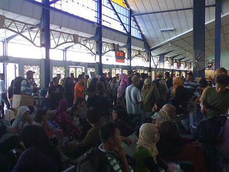 Crowded Jeti Kuala Perlis