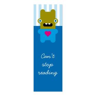 Today's Best! Wacky Wabbit bookmark profilecard