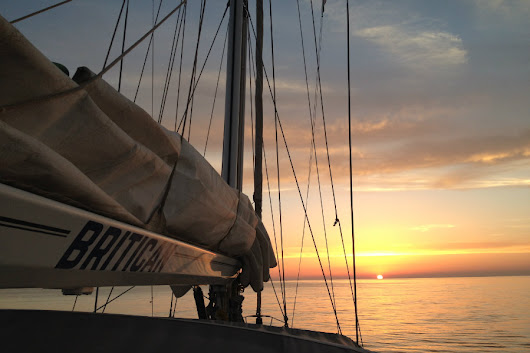 Sailing from Sicily to Corfu hitting mainland Italy on the way - Sailing Britican