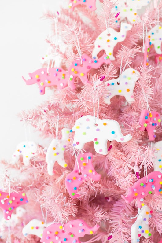 DIY Circus Animal Cookie Ornaments - Studio DIY