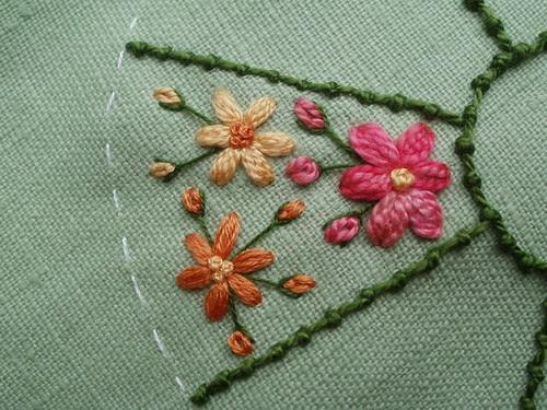 Coral stitch & Granitos