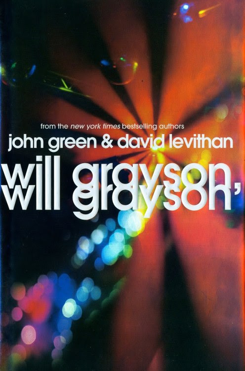 """Will Grayson, Will Grayson"" by John Green and David Levithan. One cold night, in a most unlikely corner of Chicago, two teens—both named Will Grayson—are about to cross paths. As their worlds collide and intertwine, the Will Graysons find their lives going in new and unexpected directions, building toward romantic turns-of-heart and the epic production of history's most fabulous high school musical. Hilarious, poignant, and deeply insightful, John Green and David Levithan's collaborative novel is brimming with a double helping of the heart and humor that have won both them legions of faithful fans."