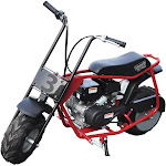 Coleman Powersports 100cc GAS Powered Trail Mini Bike-Ride on