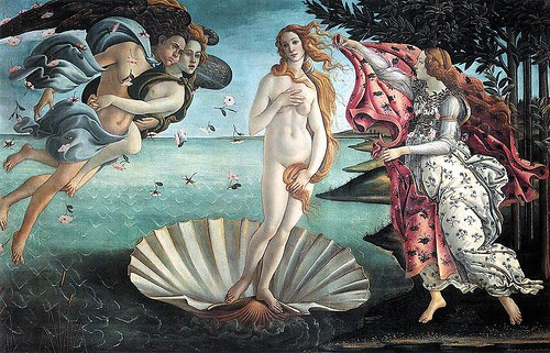 Birth of Venus, Sandro Botticelli, c. 1486