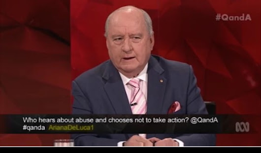 Alan Jones is under investigation by NSW Police for statutory rape of boys in the 1980's
