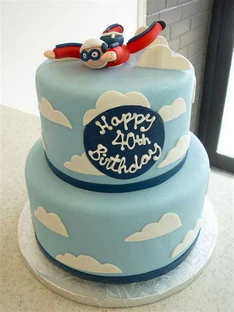 Skydiving Birthday Cake Flickr Photo Sharing cakepins.com