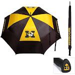 Missouri Tigers Mizzou Umbrella Golf Umbrella Auto Open