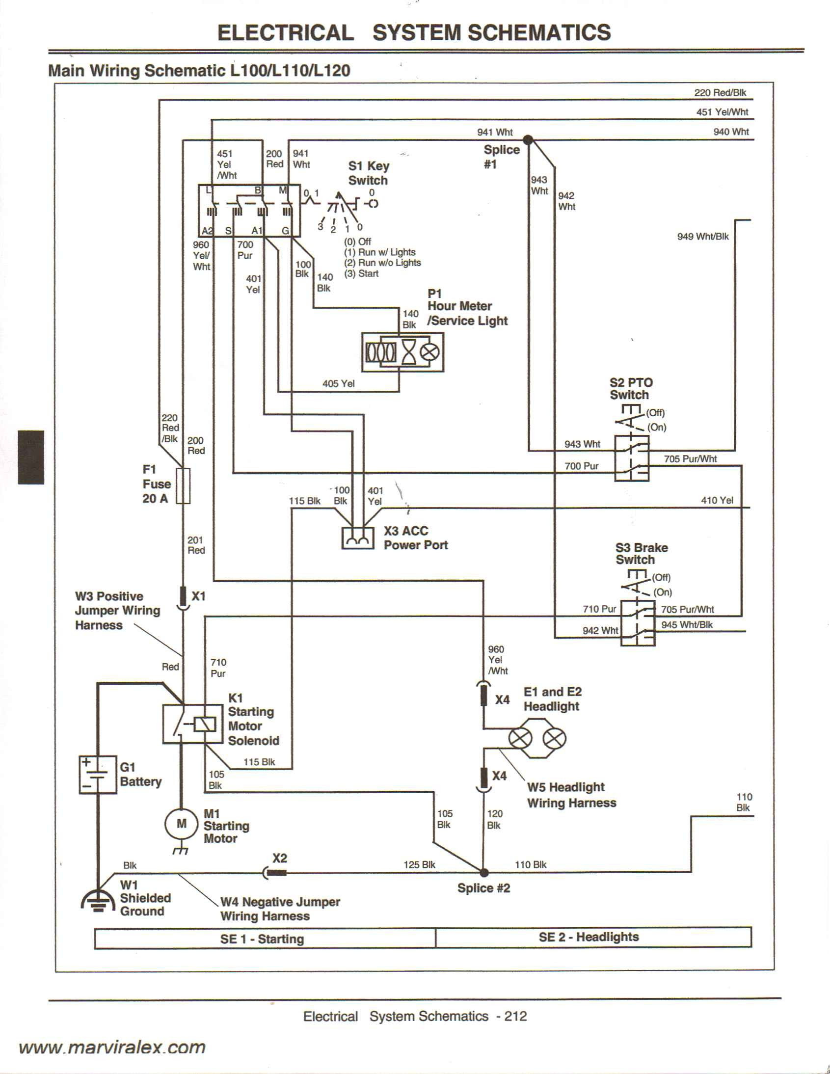 John Deere L130 Pto Switch Wiring Diagram