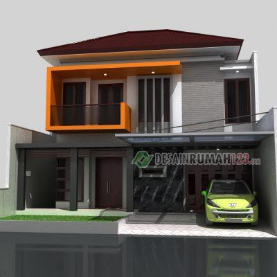 desain rumah ukuran 7 x 20 1 lantai - sekitar rumah
