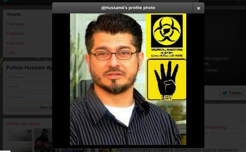 Image result for hussam ayloush tweets anti-semitic images