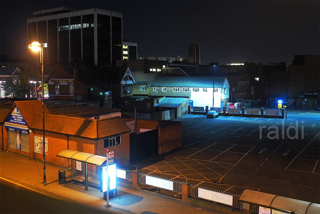 Night at Staines Road, Hounslow
