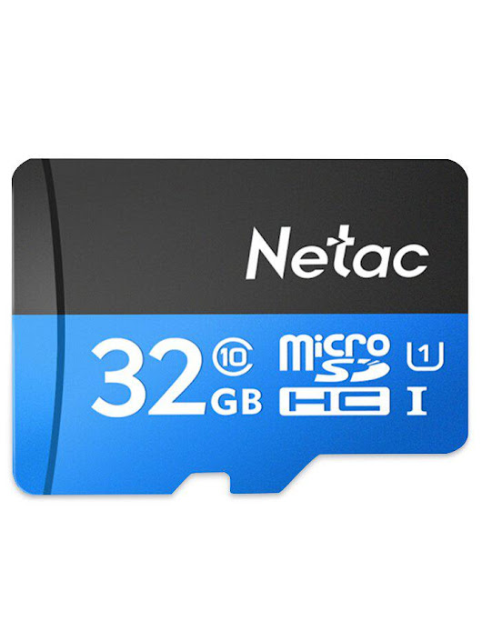 Netac P500 High Speed Micro SDHC Flash Memory SD Card 32GB