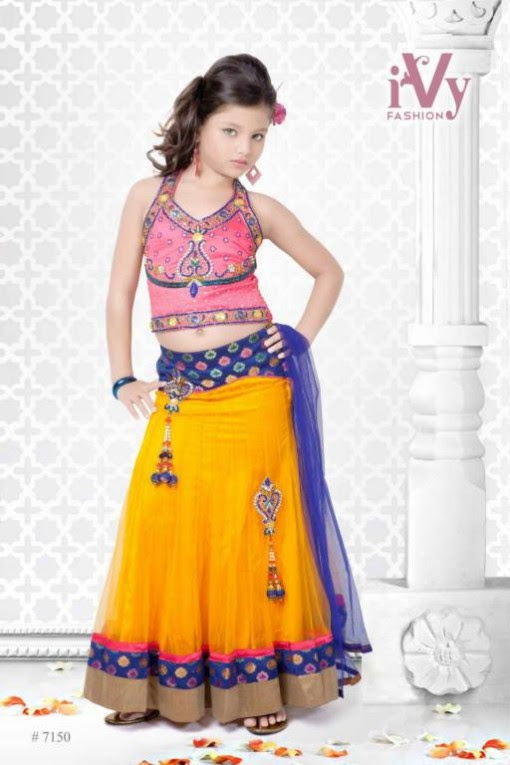Trade-india-Summer-Anarkali-Beautiful-Cute-Eid-Dresses-2013-For-Kids-Childrens-13