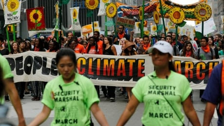 UN Climate Summit: Thousands march worldwide ahead of meeting