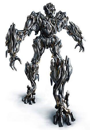An Autobot protoform.