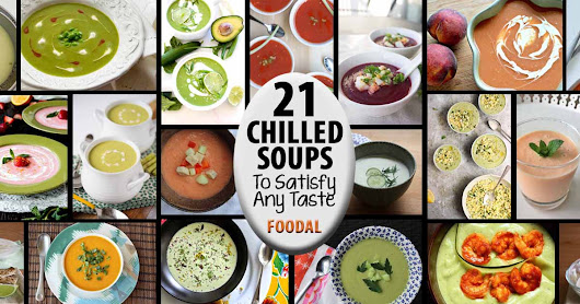21 Chilled Soups to Satisfy Any Taste | Foodal