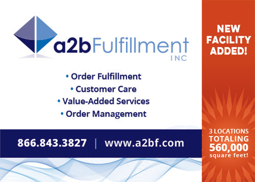 a2b Fulfillment adds Third Facility in Trenton, South Carolina